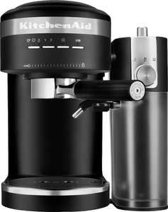 KitchenAid - Semi-Automatic Espresso Machine and Automatic Milk Frother Attachment - Matte Black