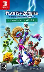 Plants vs Zombies Battle for Neighborville - Nintendo Switch, Nintendo Switch Lite