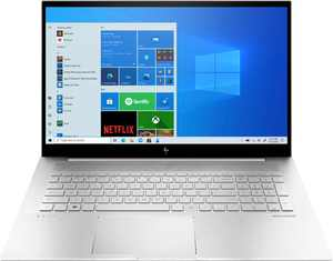 "HP - ENVY 17.3"" Touch-Screen Laptop - Intel Core i7 - 12GB Memory - 512GB SSD + 32GB Intel Optane - Natural Silver"