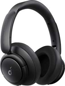 Anker - Soundcore Life Tune XR Wireless Active Noise-Cancelling Over-the-Ear Headphones - Black