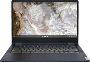 "Lenovo - Flex 5 13"" 2-in-1 Chromebook - Pentium 7505 - 4GB Memory - 32GB eMMC - Abyss Blue"