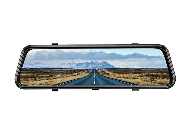 Vantop - HF609T Dual 1080P Front and Rear Mirror Dash Cam
