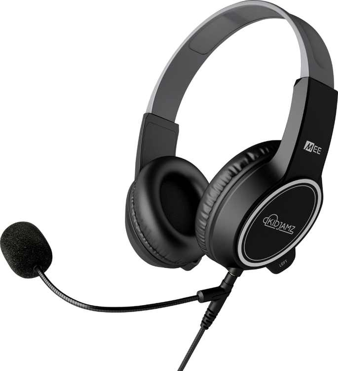 MEE audio - KidJamz Safe Listening Headset for Kids with Boom Microphone