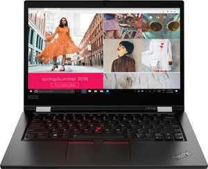 "Lenovo - ThinkPad L13 Yoga 2-in-1 13.3"" Touch Screen Laptop - Intel Core i7 - 16GB Memory - 512GB SSD - Black"