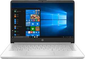 """HP - 14"""" Touch-Screen Laptop - Intel Core i3 - 8GB Memory - 256GB SSD - Natural Silver"""