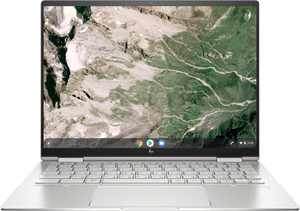 """HP - 13.5"""" 2-in-1 x360 Touch-Screen Chromebook - Intel Core i5 - 8GB Memory - 256GB SSD - Natural Silver"""
