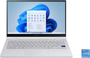 "Samsung - Galaxy Book Flex2 Alpha 13.3"" QLED Touch-Screen Laptop - Intel Core i5 - 8GB Memory - 256GB SSD - Royal Silver"