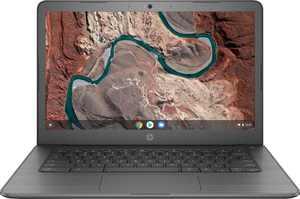 "HP - 14"" Chromebook - AMD Dual-Core A4 - 4GB Memory - 32GB eMMC - Ink Blue"