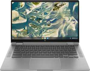 "HP - 14"" 2-In-1  Touchscreen Chromebook - Intel Core i3 - 8GB Memory - 128GB SSD - Mineral Silver"