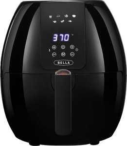 Bella - 5.4-qt. Digital Touchscreen Air Fryer - Black