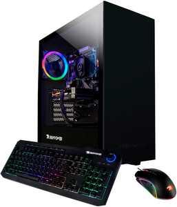 iBUYPOWER - Arc Gaming Desktop - Intel i3-10105F - 8GB Memory - NVIDIA GeForce GT 710 1GB - 480GB SSD