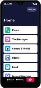 Lively - Jitterbug Smart3 Smartphone for Seniors - Black