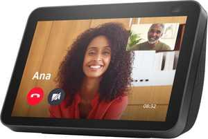 Amazon - Echo Show 8 (2nd Gen) Smart Display with Alexa - Charcoal