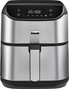 Bella Pro Series - 6-qt. Digital Air Fryer - Stainless Steel