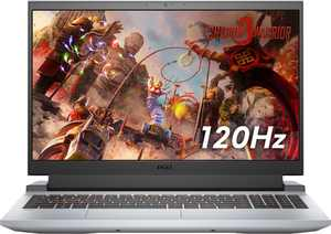 """Dell - G15 - 15.6"""" FHD Gaming Laptop  - AMD Ryzen 7  - 8GB Memory - NVIDIA GeForce RTX 3050 Ti Graphics - 512GB SSD - Phantom Grey, with speckles"""