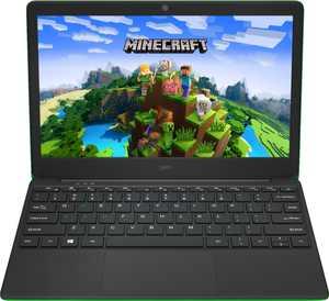 Geo - GeoBook 120 Minecraft Edition 12.5-inch HD Laptop - Intel Celeron Quad Core Processor - 4GB Memory - 64GB eMMC - Minecraft Green