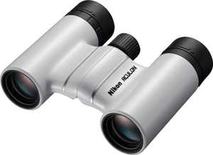 Nikon - Aculon T02 8 x 21 Compact Binoculars - White