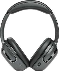 JBL - Tour One Wireless Over-Ear Noise Cancelling Headphones - Black