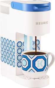 Keurig - Limited Edition Jonathan Adler K-Mini Single Serve K-Cup Pod Coffee Maker - White