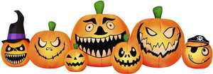 Occasions 8.5' Wide Inflatable Pumpkin Patch