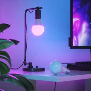 Nanoleaf Essentials A19 Smart Thread Bluetooth LED Bulbs - 3PK - White and Colors - White