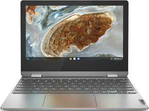 "Lenovo - Flex 3 11"" 2-in-1 Chromebook Laptop - Mediatek MT8183 - 4GB Memory - 32GB eMMC - Arctic Grey"