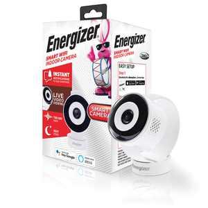 Energizer Connect EIX1-1002-WHT Smart Indoor Camera (White)