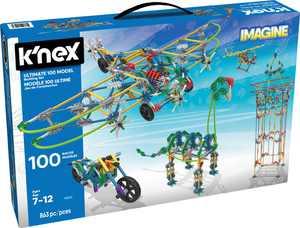 K'NEX - Ultimate Building Set - 100 Models (Walmart Exclusive)