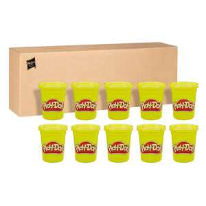 Play-Doh Bulk 12-Pack of Yellow Non-Toxic Modeling Compound (48 Ounces Total)