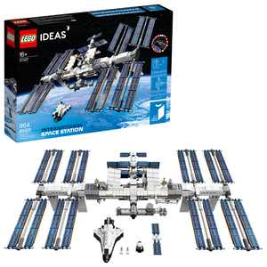 LEGO Ideas International Space Station 21321 Building Kit, Adult LEGO Set for Display (864 Pieces)