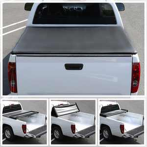 Spec-D Tuning 5Ft Short Bed Tri-Fold Tonneau Cover for 2014-2016 Nissan Frontier King Cab