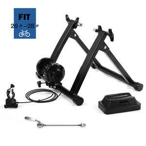 Costway Magnetic Indoor Bicycle Bike Trainer Exercise Stand 8 levels of Resistance