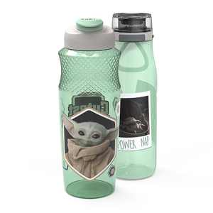 Star Wars The Mandalorian 25 and 30 ounce Water Bottle Set, The Child, 2-piece set