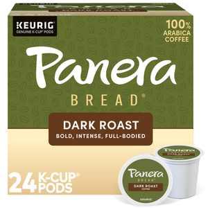 Panera Bread Dark Roast Coffee, Keurig Single Serve K-Cup Pods, 24 Count