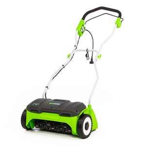 Greenworks 10 Amp 14-Inch Corded Dethatcher DT14B00