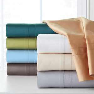 Solid 4-Pc. Sheet Sets, 620 Thread Count Cotton
