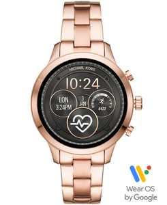 Access Gen 4 Runway Rose Gold-Tone Stainless Steel Bracelet Touchscreen Smart Watch 41mm, Powered by Wear OS by Google
