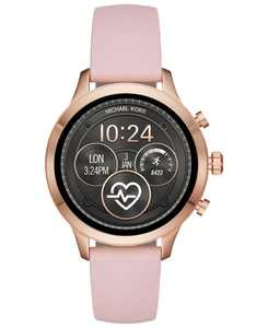 Access Gen 4 Runway Pink Silicone Strap Touchscreen Smart Watch 41mm, Powered by Wear OS by Google