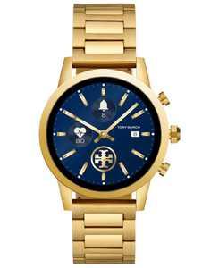 Women's Gigi ToryTrack Gold-Tone Stainless Steel Bracelet Touchscreen Smart Watch 40mm