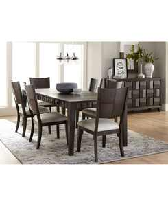 Matrix Dining 7-Pc. Set (Table & 6 Side Chairs), Created for Macy's
