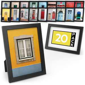 "ARTEZA Picture Frame, Premium, 5"" x 7"" - Pack of 20"