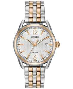 Drive from Citizen Eco-Drive Women's Two-Tone Stainless Steel Bracelet Watch 36mm