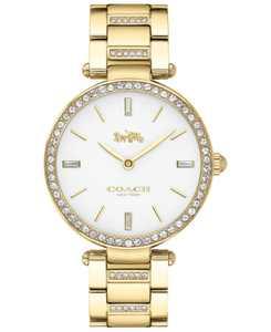 Women's Park Gold-Tone Stainless Steel Bracelet Watch 34mm