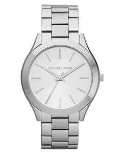 Unisex Slim Runway Stainless Steel Bracelet Watch 42mm