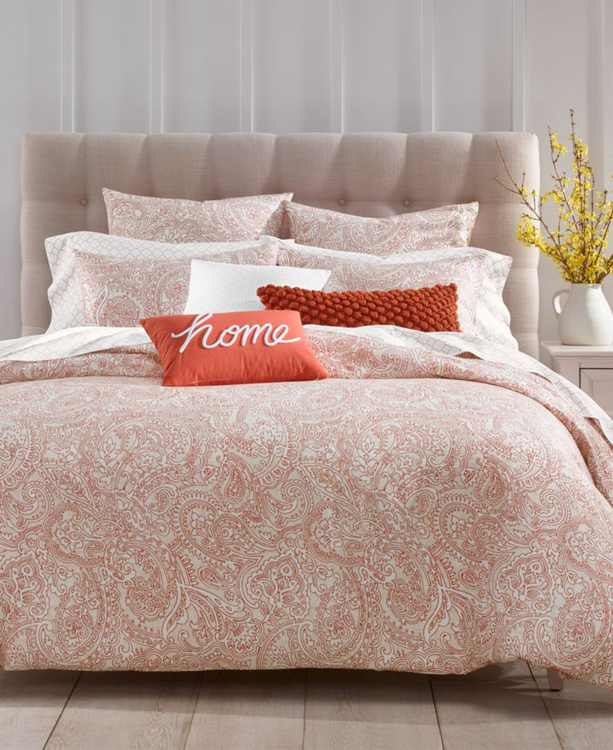 CLOSEOUT! Paisley 300-Thread Count 3-Pc. Bedding Collection, Created for Macy's