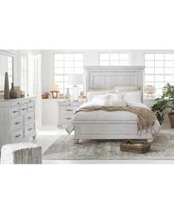 Quincy Bedroom 3-Pc. Set (Queen Bed, Nightstand & Dresser), Created for Macy's