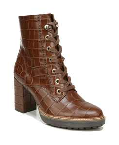 Callie Mid Shaft Lug Sole Boots