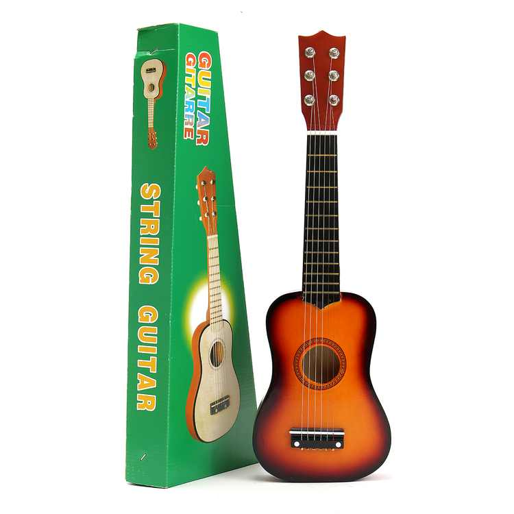 21'' Learning & Education Kids Toys Basswood Acoustic Guitar 6 String Practice Music Instruments Children Gifts 5 Color