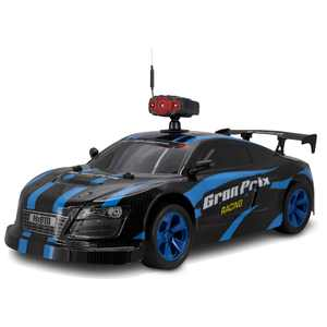 Gran Prix Rally Racer 1:10 Large Scale Remote Control Car with Removable Wi-Fi Camera, DCW500B, Black