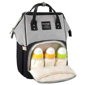 Backpack Diaper Bag, Vemingo All-in-One Waterproof Maternity Diaper Nappy Bag Large Capacity Travel Backpack for Baby Care